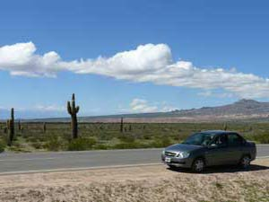 Andes outback drive